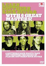 Learn Southern Rock Guitar with 6 Great Masters! DVD NEW 014019527