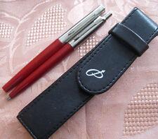 Parker Jotter Kugelschreiber Füllhalter M Set mit Etui Farbe rot