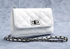 Damen-Abendtaschen aus Leder mit Deckelklappe