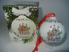 Hutschenreuther Bola de Navidad Porcelana 1990 (Mi Art.No. 1990-3)