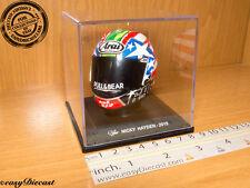 NICKY HAYDEN MOTO-GP ARAI HELMET CASCO CASQUE 1/5 2015 #69 PULL & BEAR MINT