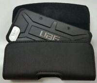 FOR BlackBerry Priv XL BELT CLIP LEATHER HOLSTER FIT A UAG HYBRID CASE ON PHONE