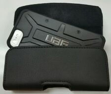FOR iPHONE 5 5c 5s XL BELT CLIP LEATHER HOLSTER FITS A UAG HYBRID CASE ON PHONE