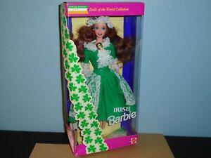 BARBIE IRISH DOTW Special Edition 1994 NRFB Mattel #12998