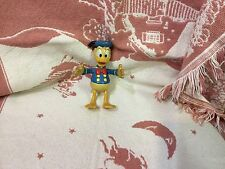 Vintage Donald Duck Rubber Pvc Toy Walt Disney By Applause 5 1/2 '