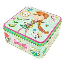 accessori per capelli quadrato scatola – verde camera da letto bambina