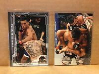 Topps UFC Charles Oliveira lot/ rookie base and bonus champions card