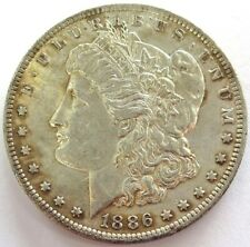 1886 O UNITED STATES MORGAN SILVER $1 DOLLAR COIN ABOUT UNC CONDITION