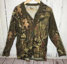 b39c3974 Rocky Mens Camo Pullover Shirt Sweatshirt 1/2 Zip Long Sleeve Size L