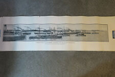 Ww1 Canada's Rally to the Empire, Lots of Navy ships, oct 1914, War, Panoramic,