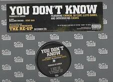 Eminem You Don't Know 2006 Limited Edition Promo Vinyl LP Billion Bucks Stat Quo