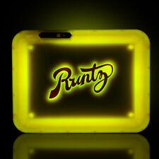 Runtz x Glow Tray LED Rolling Tray - Yellow