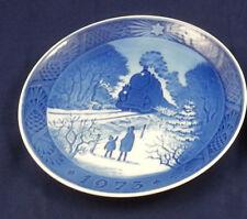 1973 Royal Copenhagen Christmas Plate 7.25 inch - Kai Lange