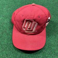 Vintage Oklahoma Sooners Sports Specialties Single Line Script Snapback Hat