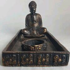 Biedermann /& Sons Stone Buddha Tealight Holder