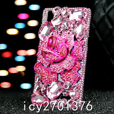 Cute Bling Phone Cases Glitter Sparkly Rhinestone Jeweled Hard back Cover Case D