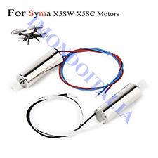 SYMA X5SC X5SW  MOTOR  ( 2 MOTORI ....I FILO BIANCO/NERO E 1 FILO ROSSO/BLU)