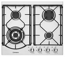 Westinghouse WHG644SA 60cm Gas Cooktop - Stainless Steel