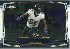 Topps Chrome Football 2014 Veteran Card #37 Terrell Suggs - Baltimore Ravens