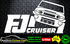FJ Cruiser Car Window Sticker Decal