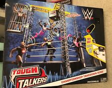 NEW WWE Tough Talkers Championship Takedown Ring Mattel New in Box