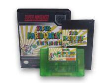 Super Mario World Return to Dinosaur Land - Snes Game Box Manual Limited Edition