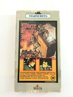 Where Eagles Dare VHS Starring Clint Eastwood