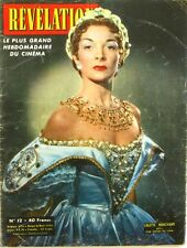 Ciné Révélation n°12- 1954 -Colette Marchand - Martine Carol - Dora Doll -