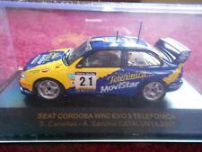 Seat Cordoba WRC EVO3 Telefonica in 1:43 scale by IXO