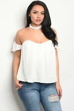 NEW..Sassy Stylish Plus Size Choker Style Off the Shoulder Top.Sz20/3XL