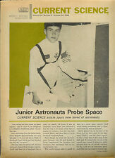 1968 Current Science Elementary Junior High School Newspaper Kids Learning Fun