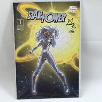 Starpower Comics Terracciano Graham Issue  #1 Signed by the Artists Feb 2013