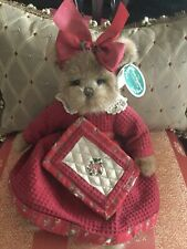 "Bearington Bears ""Myrtle Mcquilter"" w/tags. Htf~Retired~Wow"