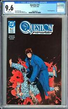 Question #17 CGC 9.6 WP 1988 3802398016 1st Rorschach from Watchmen!