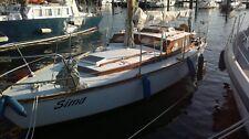 Segelboot aus Holz mit innenliegendem Motor (6PS, Vire), 8m Länge, 2,5m Breite
