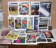 49 Issues Newscientist Magazine (Weekly) 1985, #1437 to 1487 New Science.
