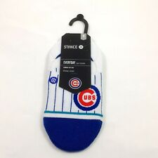 New Mens Stance MLB Chicago Cubs Super Invisible Socks Size 6-8.5 Medium
