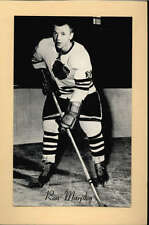 1944-63 BEEHIVE GROUP 2 PHOTOS   RON MURPHY CHICAGO BLACK HAWKS EX-MT F2528