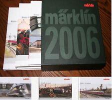 EE 2006 NEW Marklin Catalog Set Hard Bound 3 Separate Books HO Z 1 Gauges