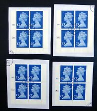 GB 2016 Machin £5 Sapphire Cyl BlK 4 Very Fine Used RM offsale EACH NB4709