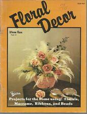 Floral Decor Taurus Publications Sc 1979