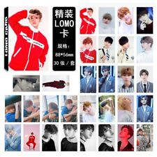 30pcs /set NINE PERCENT August 蔡徐坤 Photo Card Poster Lomo Cards