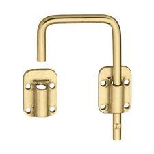 """National 2-1/2"""" Brass Door Latch"""
