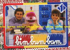 BIM BUM BAM Italia1 Uan, Paolo Bonolis, Manuela Blanchard - postcard - cartolina