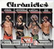 2021 PANINI CHRONICLES UFC HOBBY BOX - BRAND NEW SEALED - FREE SHIPPING