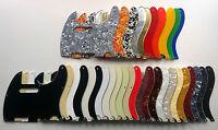 Telecaster Pickguard 8 hole Standard US Tele style: various colours: 1, 3, 4 ply