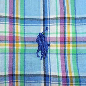 New XL Polo Ralph Lauren Classic Fit Long Sleeve Button-Front Shirt 100% Cotton