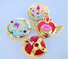 Sailor Moon Compact Set of 4 Star Crystal Super S Crisis Heart Cosmic Heart Moon