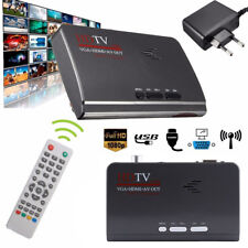 Digital Satellite Receiver 1080P HDMI DVB-T2 TV Box VGA/AV Tuner Combo Converter