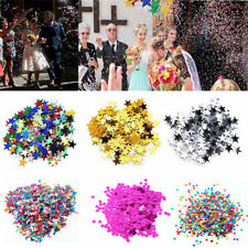15g Wedding Sparkle Scatter Stars Table Confetti Foil Birthday Party Decoration